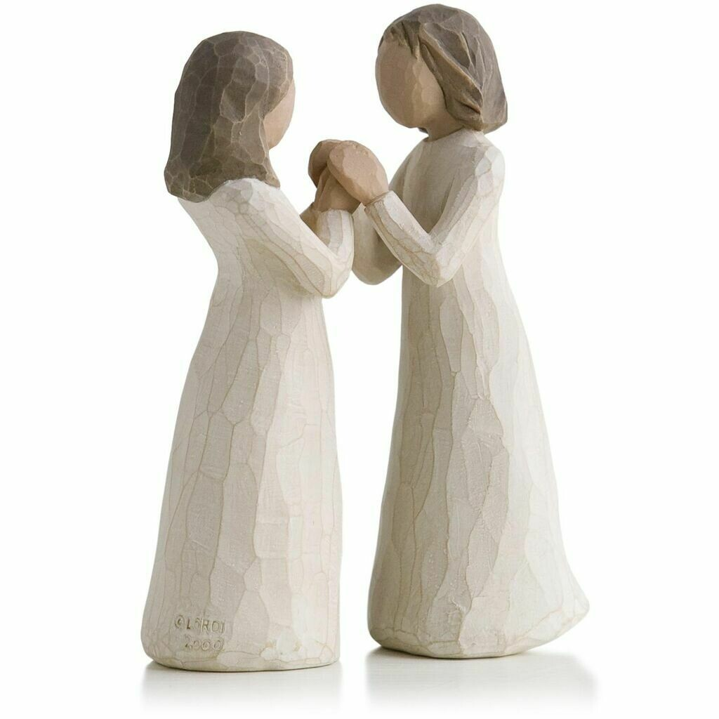 Willow Tree: Sisters by Heart - Girls can be Holding Hands - 2 Pieces