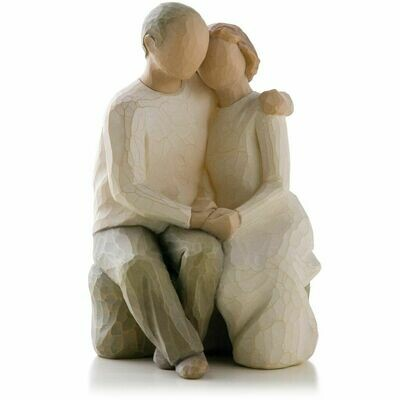 Willow Tree: Anniversary - Man and Woman Sitting