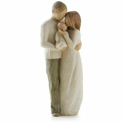 Willow Tree: Our Gift - Mother and Father with Baby