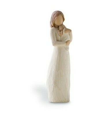 Willow Tree: Angel of Mine - Mother standing holding baby
