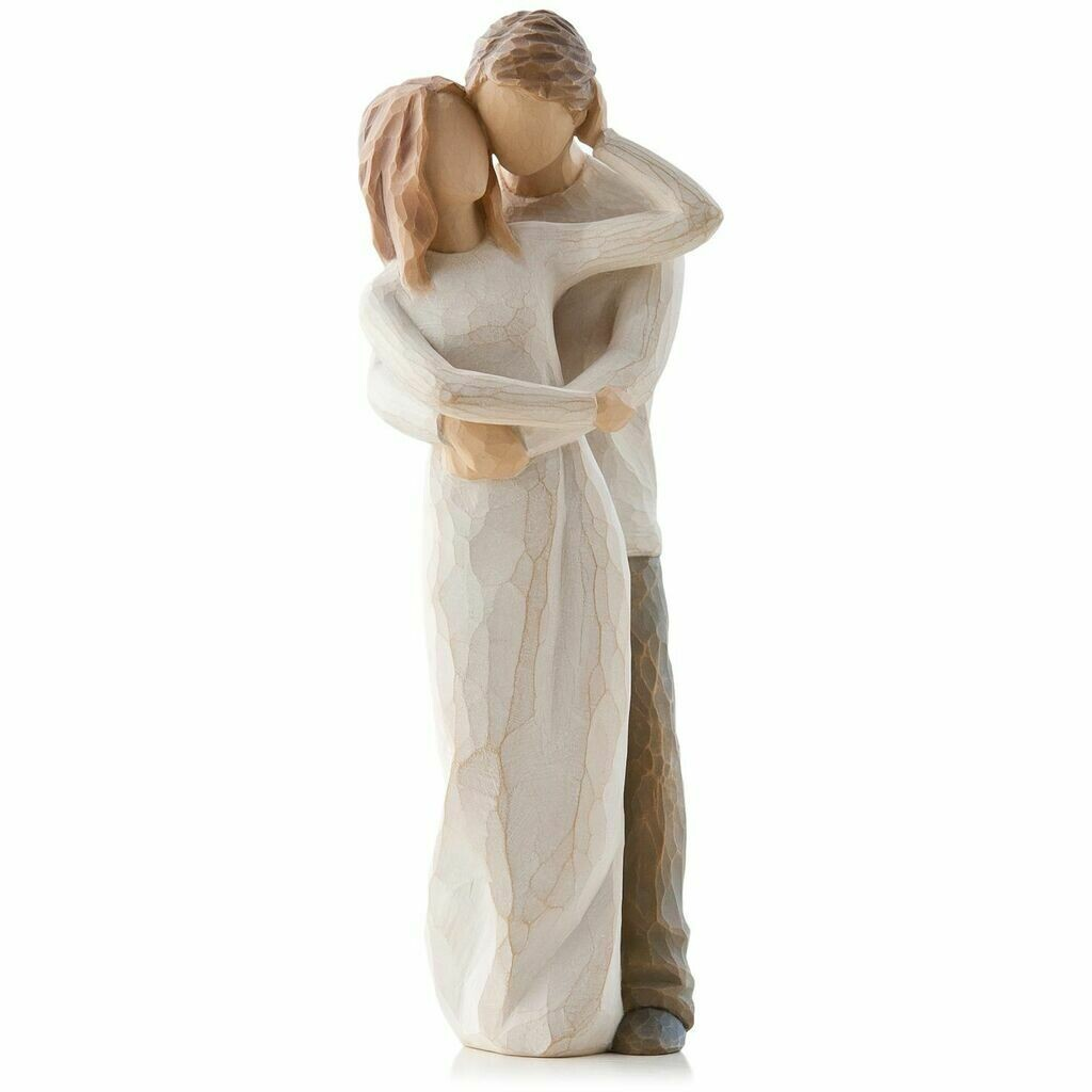 Willow Tree: Together - Young Couple standing and embracing