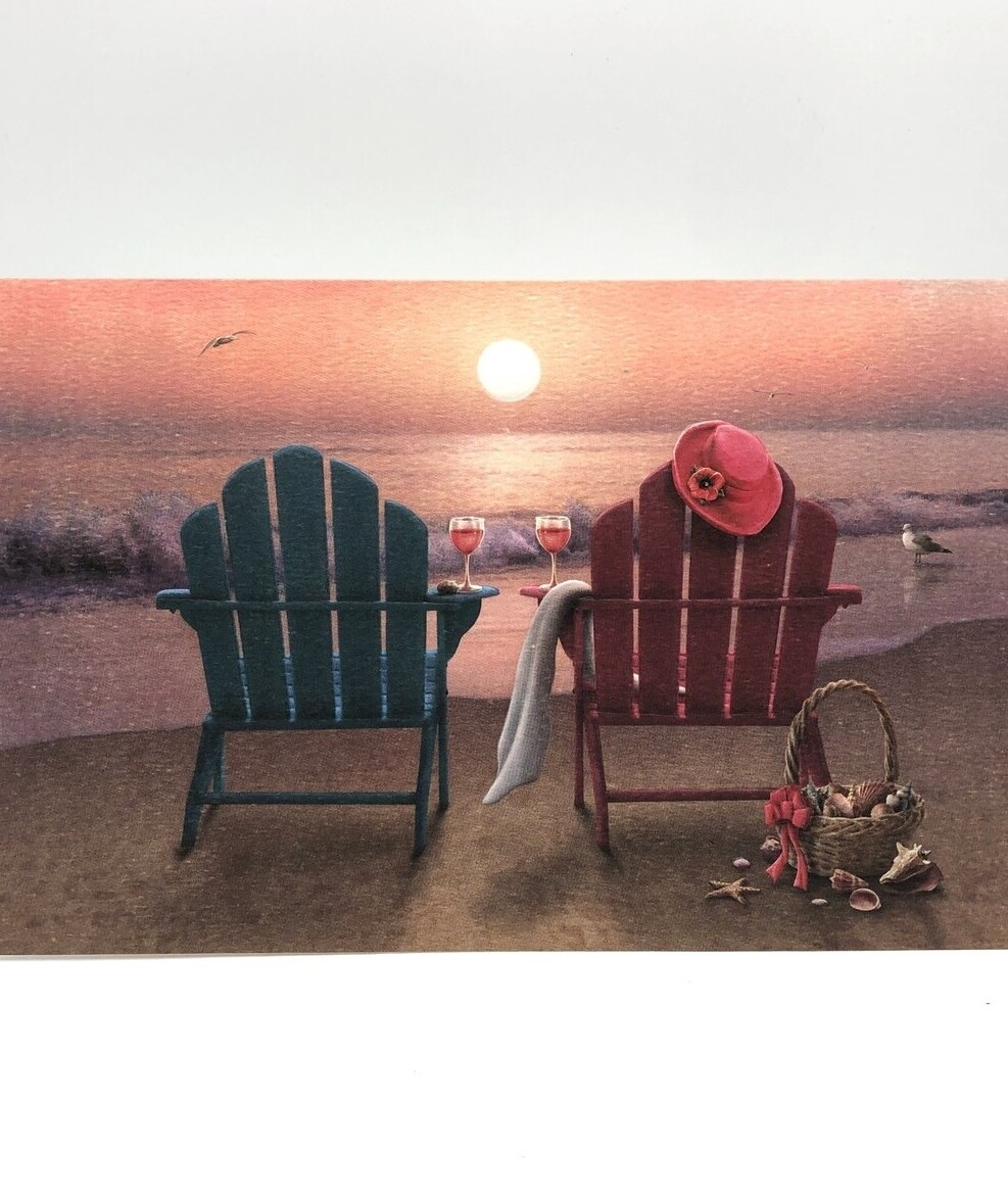 Anniversary/Wedding - Two Chairs on the Beach