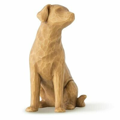 Willow Tree: Love My Dog - Light Brown Dog