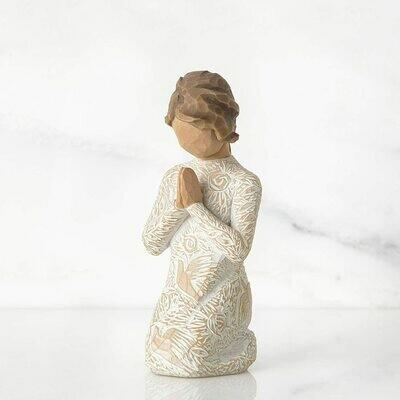 Willow Tree: Prayer of Peace - Kneeling Girl