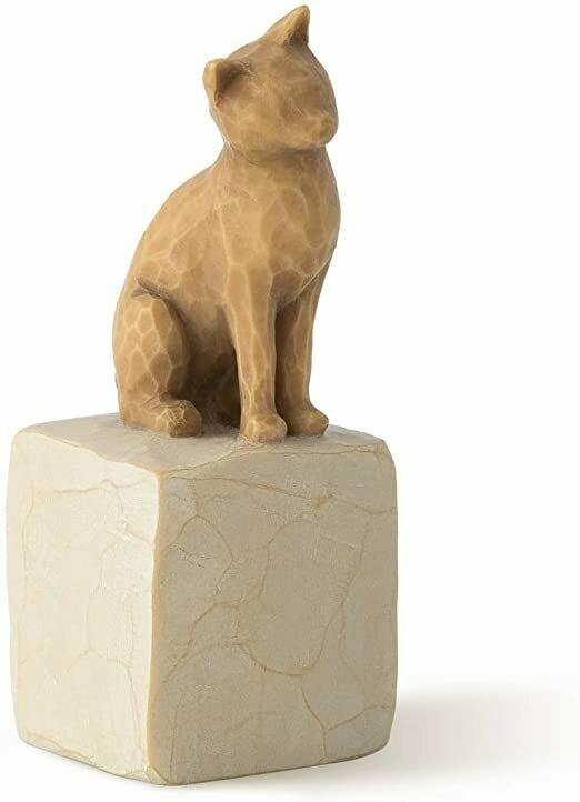 Willow Tree: Love My Cat - Light Brown Cat
