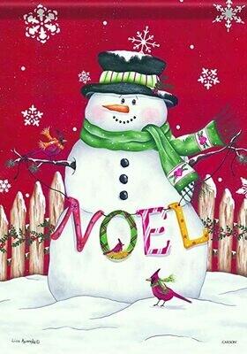 Noel Snowman - House Flag - 28