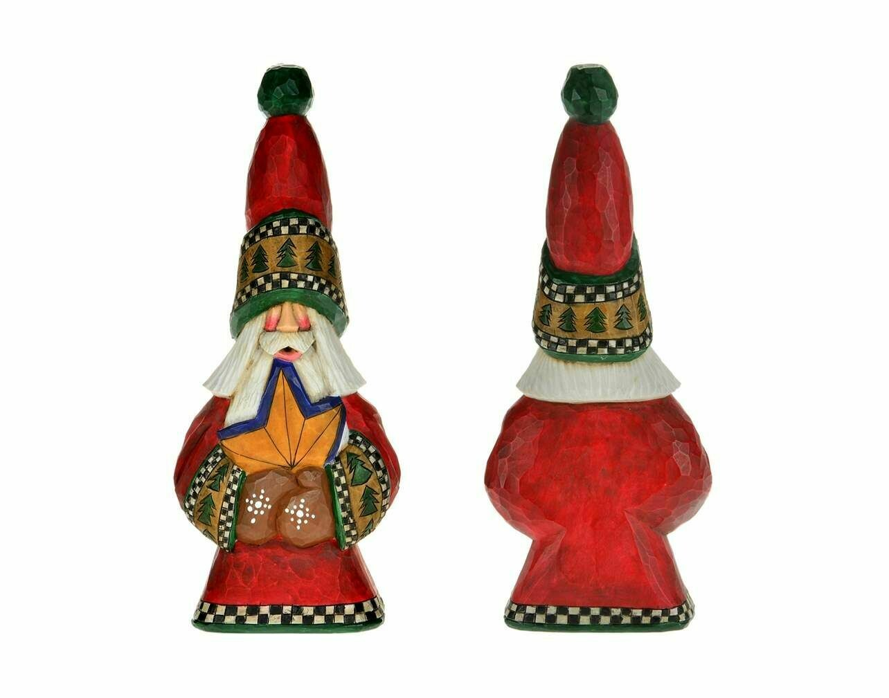 Cottage Carvings North Star Santa - 9 inches - Canadian Artist Dave Francis