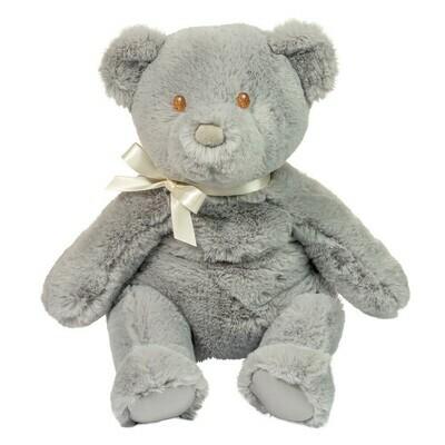 Zeta - Grey Bear - 12 inch with stitched eyes - Douglas Baby