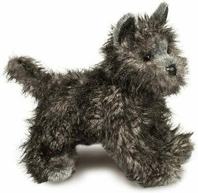 Hazel - Grey Terrier - 16 inch - Douglas Plush