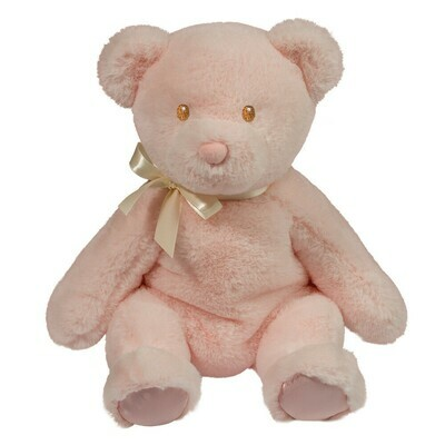 Nora - Pink Bear - 12 inch with stitched eyes - Douglas Baby