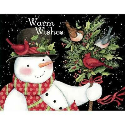 Lang Christmas Cards - Snowman and Friends - 18 per Box