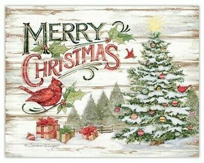 Lang Christmas Cards Petite - Good Tidings - 12 per Box - 5