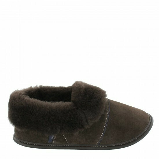 Mens Low-cut - 10.5/11.5  Brown / Brown Fur