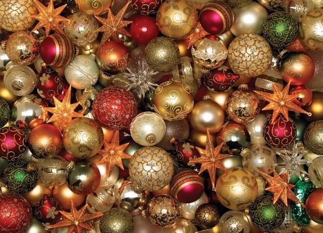 Christmas Balls - 500 Piece Cobble Hill Puzzle