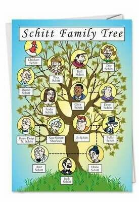 Birthday - Schitt Family Tree