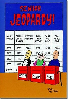 Birthday - Senior Jeopardy