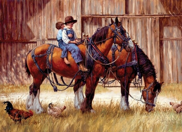 Back to the Barn - 1000 Piece Cobble Hill Puzzle