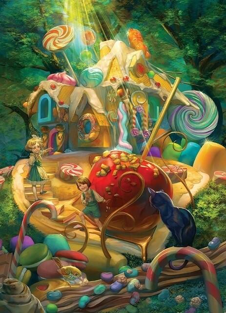 Candy Cottage - Family Pieces - 350 piece Cobble Hill Puzzle