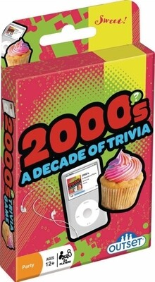 2000s Trivia Card Game