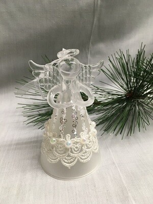 Glass Angel / Fairy Ornament - 4.5