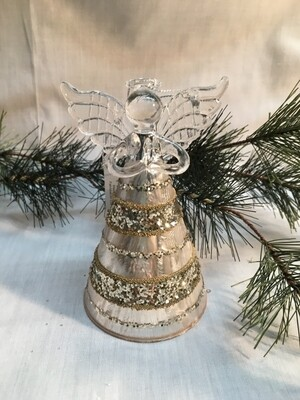 Glass Angel / Fairy Ornament - 5.5