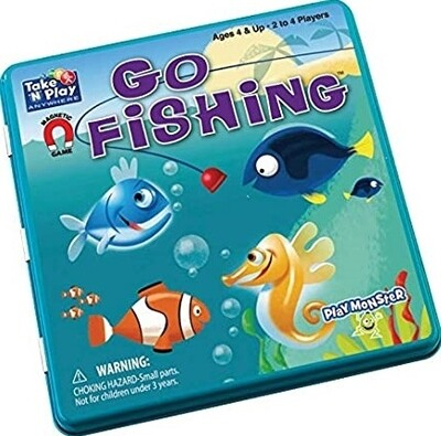 Go Fishing Game Tin - Magnetic Game Take and Play