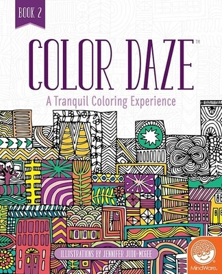 Color Daze - Colouring Book 2