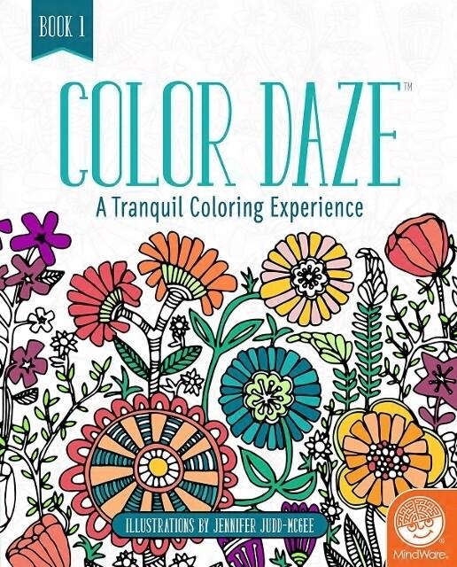Color Daze - Colouring Book 1