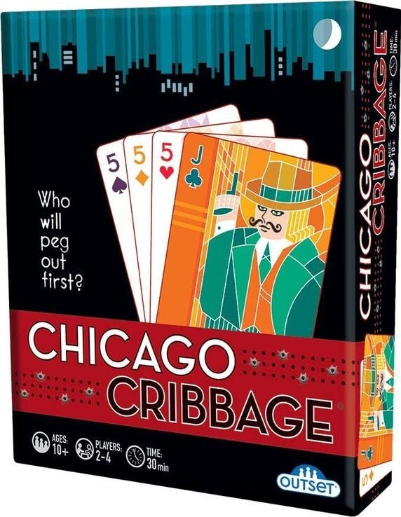 Chicago Cribbage - 2-4 Players - Ages 10 and up