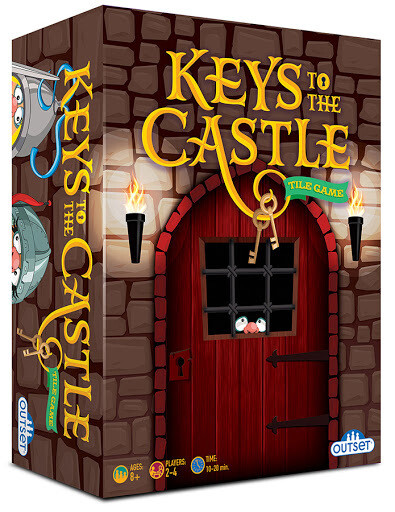 Keys to the Castle - Tile Game, Ages 8 and up