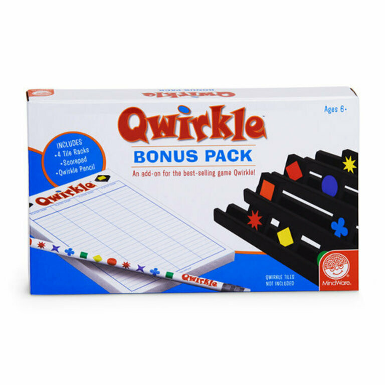 Qwirkle Bonus Pack - Additional Items for Ease of Play with original Qwirkle Game