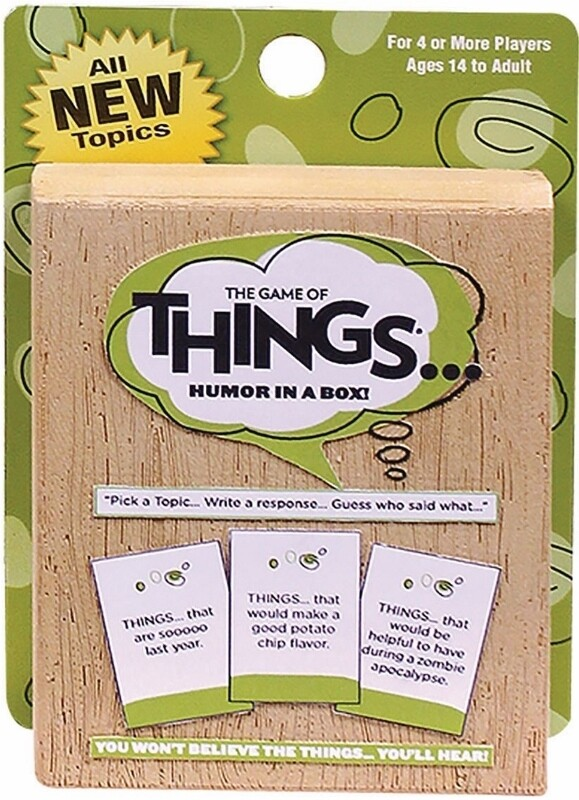 The Game of Things - Card travel version