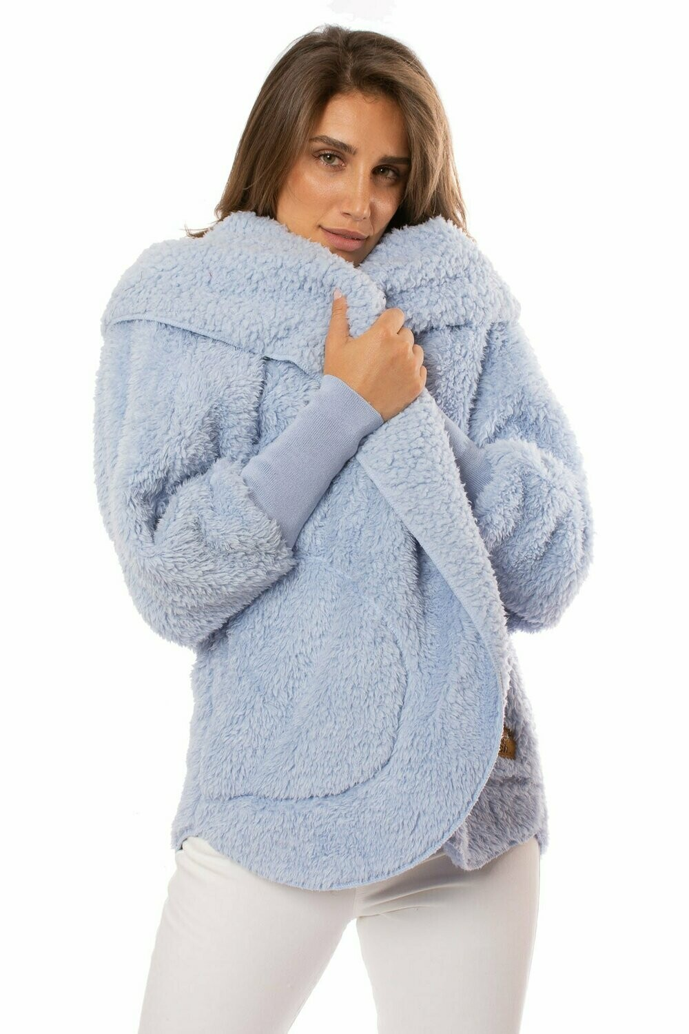 Nordic Beach Body Wrap - Cashmere Blue - One Size