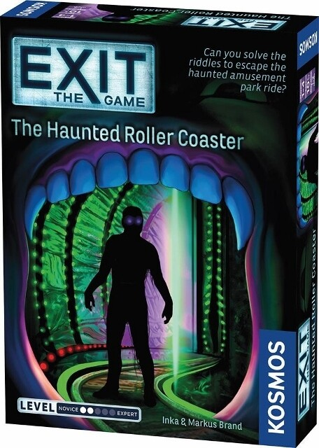 Exit - The Haunted Roller Coaster