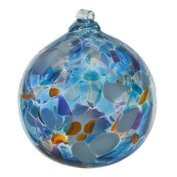 "2"" Calico Friendship Ball - Stormy Sea"