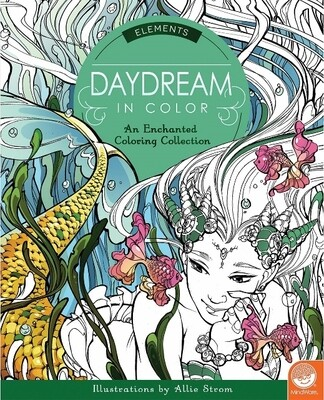 Daydream in Colour - Elements -  Colouring Book