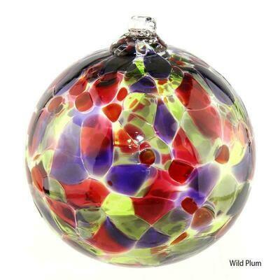"3"" Calico Friendship Ball - Wild Plum"