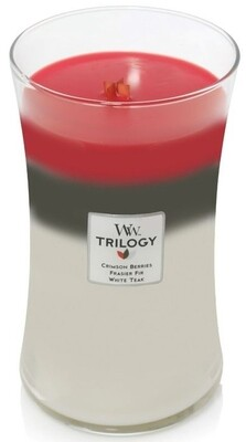 Winter Garland - Large Trilogy - Woodwick Candle