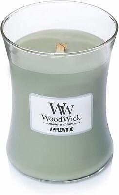 Applewood - Medium - WoodWick Candle