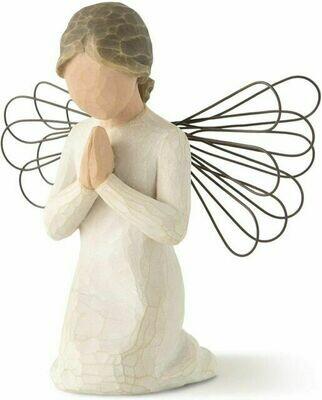 Willow Tree: Angel of Prayer - Kneeling - Wire Wings