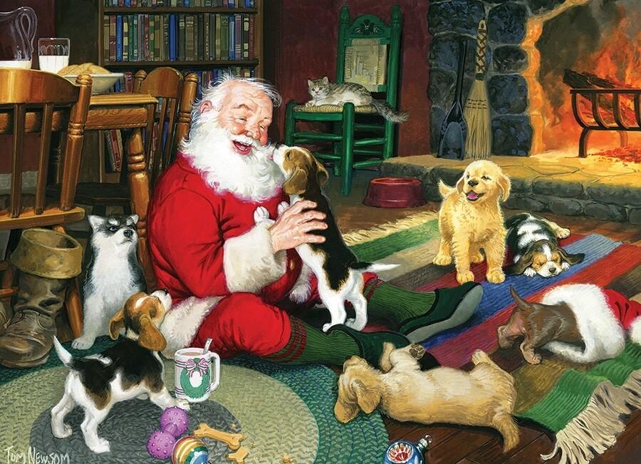 Santa's Playtime - 1000 Piece Cobble Hill Puzzle
