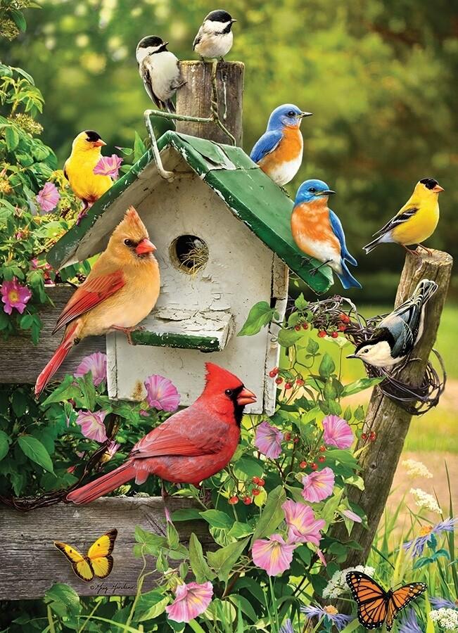Summer Birdhouse - 1000 Piece Cobble Hill Puzzle