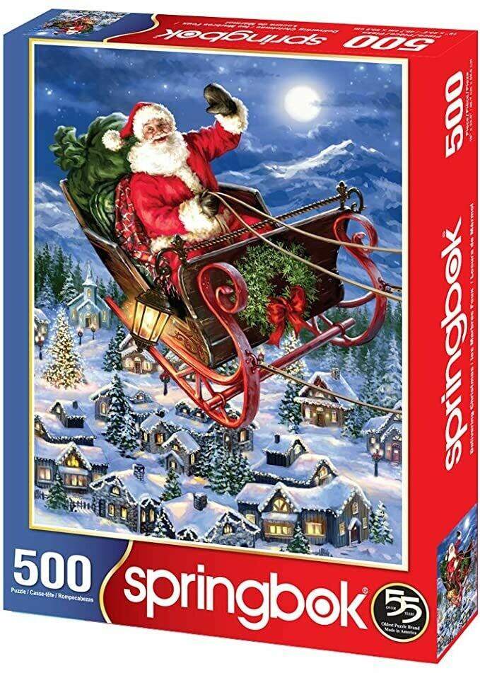Delivering Christmas - 500 Piece Springbok Puzzle