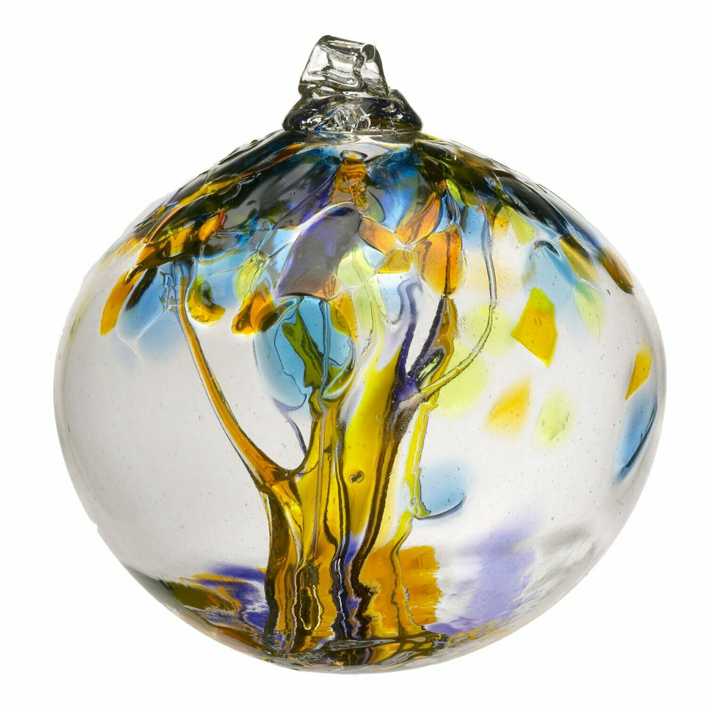 "Tree of Enchantment 6"" - Joy - Friendship Ball - Canadian Blown Glass"