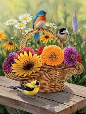 Summer Bouquet Easy Handling - 275 piece Cobble Hill Puzzle