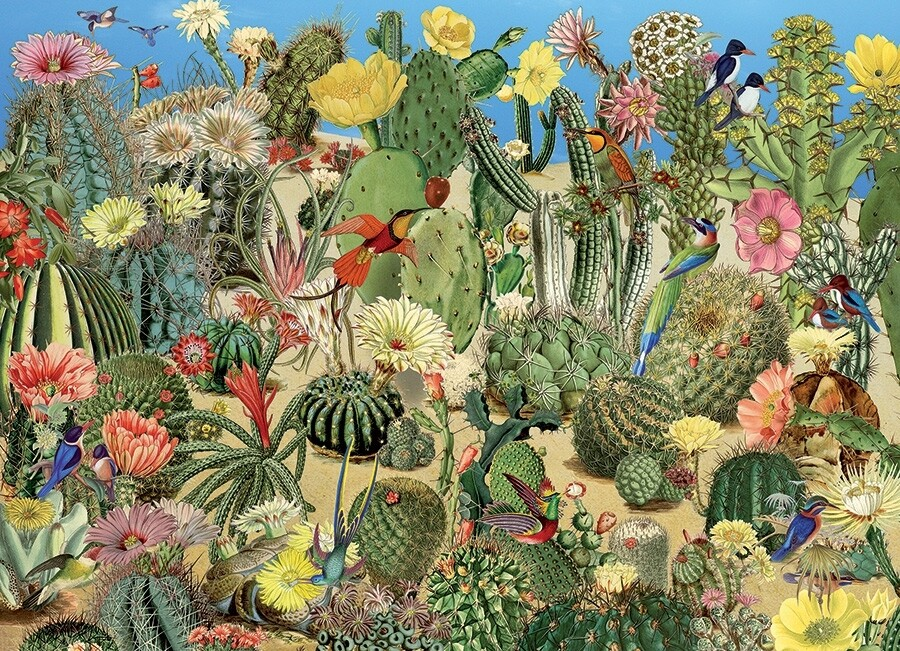 Cactus Garden - 1000 Piece Cobble Hill Puzzle