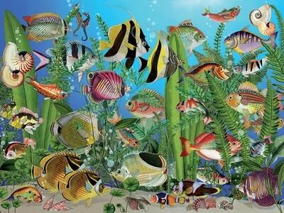 Aquarium - Easy Handling - 275 Piece Cobble Hill Puzzle
