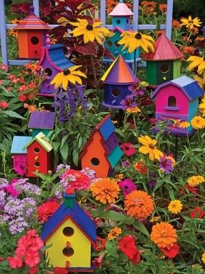 Birdhouses - Easy Handling - 275 Piece Cobble Hill Puzzle