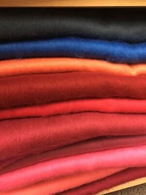 Alpaca Scarf - made in Ecuador - Assorted Solid Colours