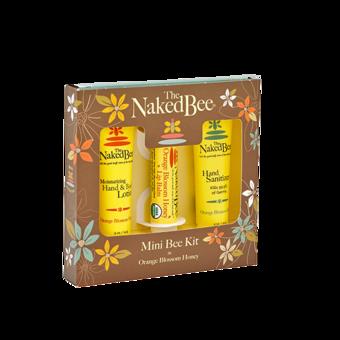 Mini Bee Kit - lotion, sanitizer and lip balm - Orange Blossom Honey